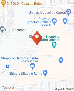 Mapa da empresa Cinepólis - Shopping Jardim Oriente