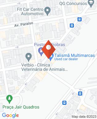 Mapa da empresa Hidrovale do Paraíba
