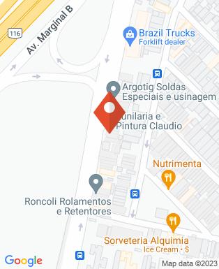 Mapa da empresa Mitra Engenharia