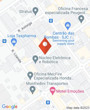 Mapa da empresa De sta co Ema Indústria e Comércio Ltda