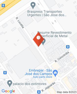 Mapa da empresa Resume Revestimento Superficial de Metais Ltda
