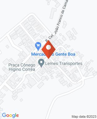 Mapa da empresa Câmara Municipal de Jambeiro