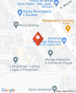 Mapa da empresa Csti Consult. e Soluções em Tec. da Informação
