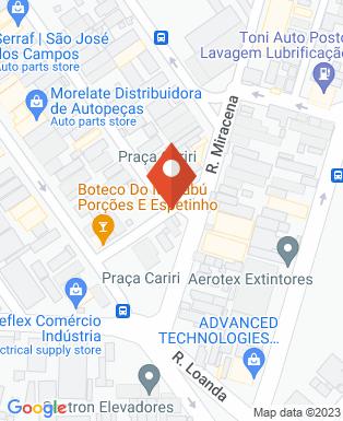 Mapa da empresa Sectron Indústria e Comércio Ltda