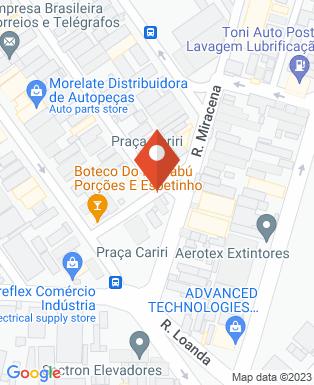 Mapa da empresa Gerdau SA Aços Longos - São José dos Campos