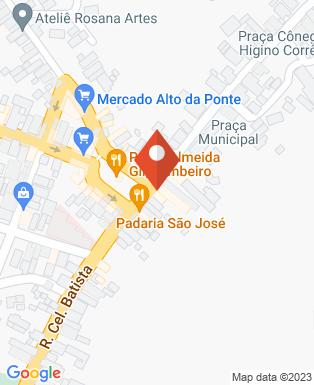 Mapa da empresa Padaria São José