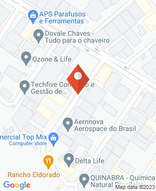Mapa da empresa Servnews Robótica e Automação