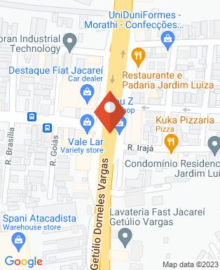 Mapa da empresa Usicaljac Usinagem e Caldeiraria