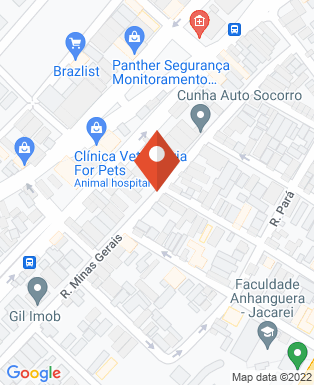 Mapa da empresa Pimech Engenharia e Construção