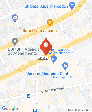 Mapa da empresa Cinemark - Shopping Jacareí