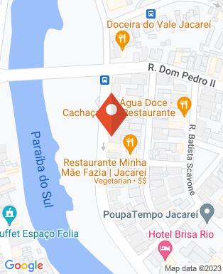 Mapa da empresa Uniodonto Jacareí