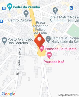 Mapa da empresa Prefeitura Municipal de Natividade da Serra