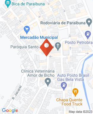Mapa da empresa Prefeitura Municipal de Paraibuna