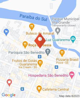 Mapa da empresa Pastel da Praça