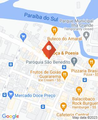 Mapa da empresa Ziluka Sorveteria