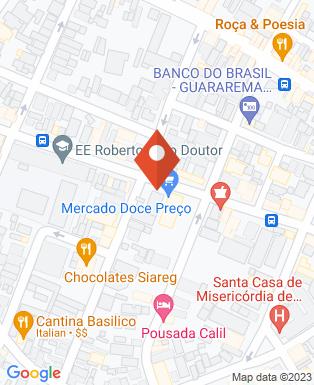 Mapa da empresa Mago Supermercado