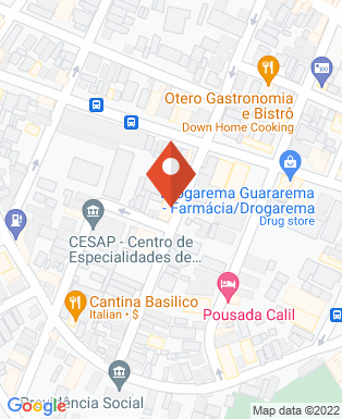 Mapa da empresa Estação da Pizza