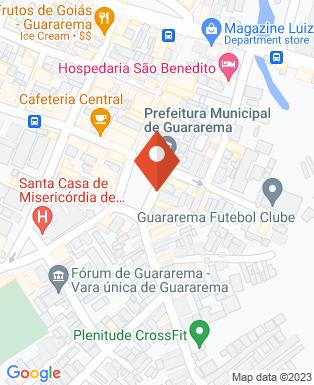 Mapa da empresa Associação Comercial de Guararema
