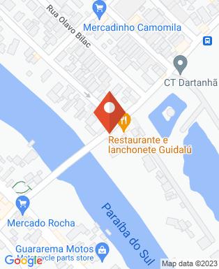 Mapa da empresa Guararema Imóveis