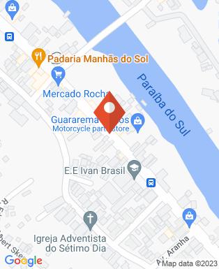 Mapa da empresa JR Baterias