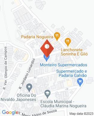 Mapa da empresa Mercado Morais