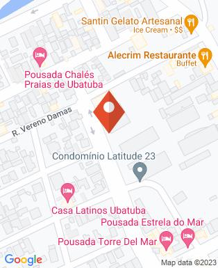 Mapa da empresa Paróquia Exaltação da Santa Cruz