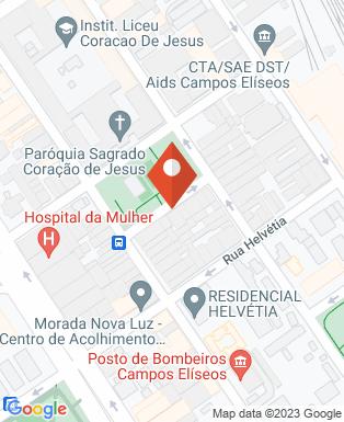 Mapa da empresa UNISAL - Campos Eliseos