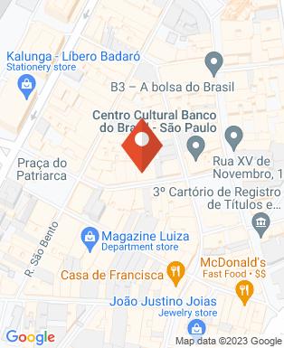 Mapa da empresa Sindicato de Empresas de Internet do Estado de São Paulo