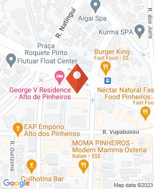 Mapa da empresa Flupp - Fundação Lúcia & Pelerson Penido