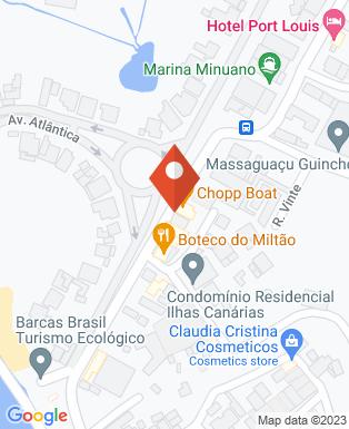 Mapa da empresa Francis Hotel Pousada