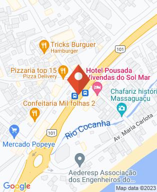 Mapa da empresa Hotel Costa Norte Massaguaçu