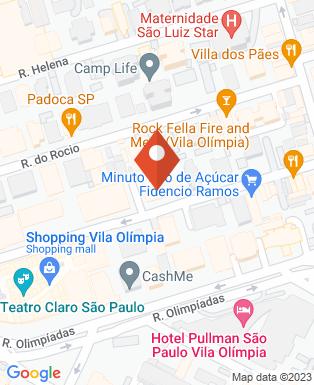 Mapa da empresa Agência Fizz
