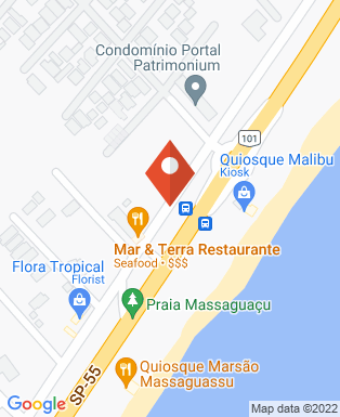 Mapa da empresa Pousada Martin de Sá