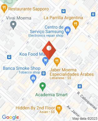 Mapa da empresa MTM Publicidade