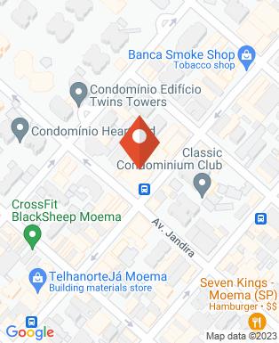 Mapa da empresa Escritório de Consultoria e Comunicação