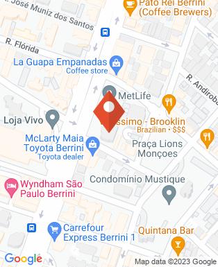 Mapa da empresa Weber Shandwick Brasil