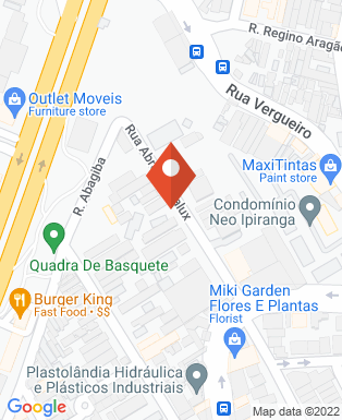 Mapa da empresa Radio Pool