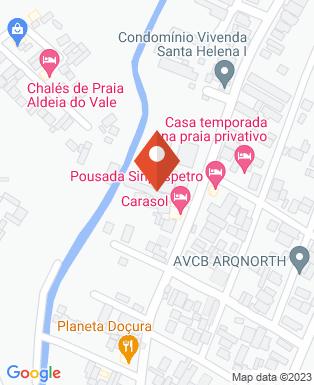 Mapa da empresa CaraSol Hotel