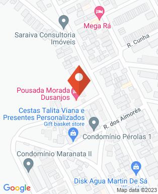 Mapa da empresa Pousada Morada do Arquiteto