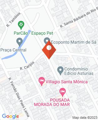 Mapa da empresa OFK Engenharia Ltda