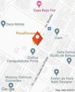 Mapa da empresa AME Caraguatatuba