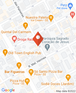 Mapa da empresa X Running
