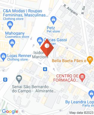 Mapa da empresa LN Comunicação