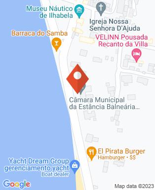 Mapa da empresa Câmara Municipal de Ilha Bela