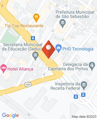 Mapa da empresa Associação Comercial e Industrial de São Sebastião