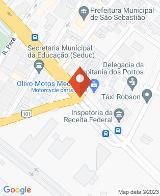 Mapa da empresa Rádio Beira Mar 102.7 FM