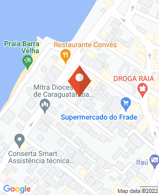 Mapa da empresa APAE de Ihabela