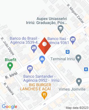 Mapa da empresa Br Logic