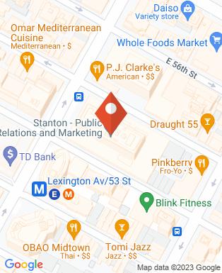 Mapa da empresa Weber Shandwick