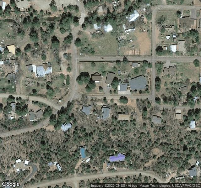 Quiet neighborhood in Tonto National Forest